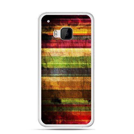 Etui na HTC One M9 Kolorowe deski
