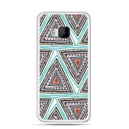 Etui na HTC One M9 Azteckie trójkąty