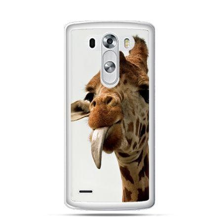 Etui na LG G3 żyrafa z językiem