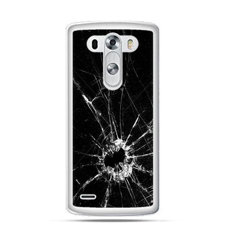 Etui na LG G3 Rozbita szyba