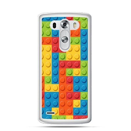 Etui na LG G3 kolorowe klocki