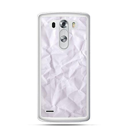 Etui na LG G3 pomięty papier