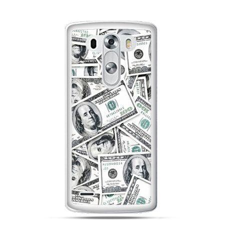 Etui na LG G3 dolary banknoty