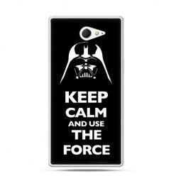 Sony Xperia M2 etui Keep Calm Vader