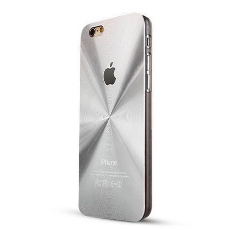 iPhone 6 Plus srebrne plecki aluminiowe efekt cd