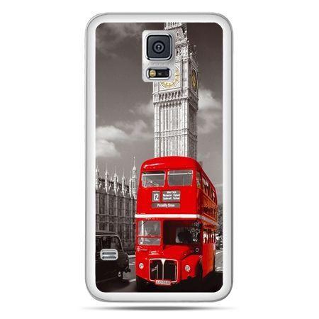 Galaxy S5 Neo etui czerwony autobus londyn