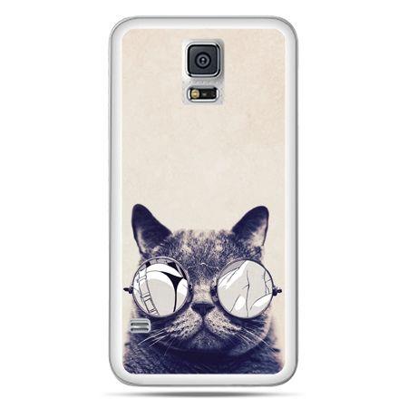 Galaxy S5 Neo etui kot w okularach