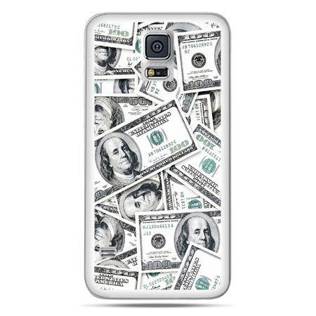 Galaxy S5 Neo etui dolary banknoty