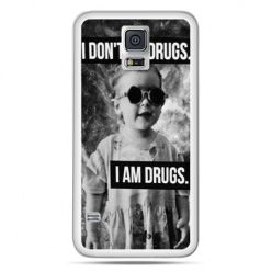 Galaxy S5 Neo etui I don`t do drugs I am drugs