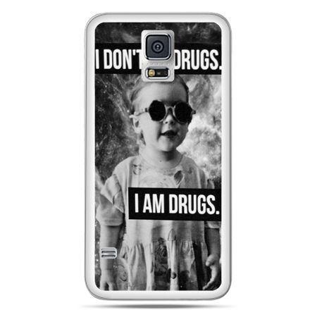 Galaxy S5 Neo etui I don`t do drugs I am drugs