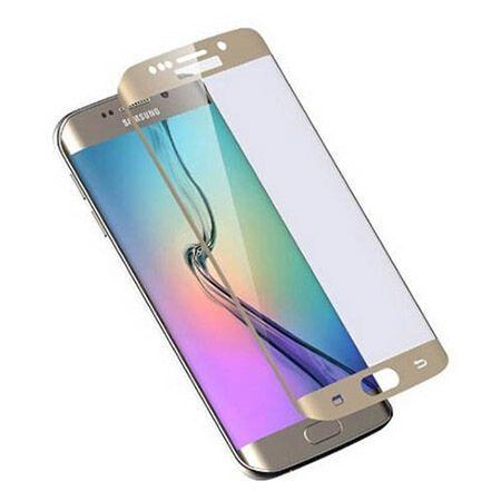 Galaxy S6 Edge Plus Hartowane szkło na cały ekran 3D - Złoty.