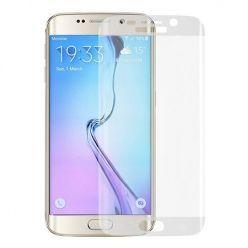 Galaxy S6 Edge Hartowane szkło na cały ekran 3D - Bezbarwny