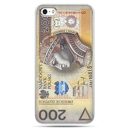 Etui na telefon banknot 200 złotych.