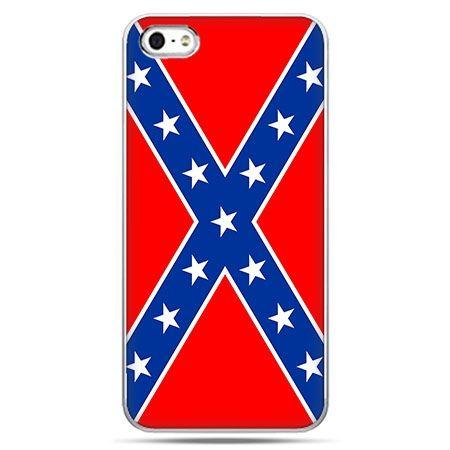 Etui na telefon flaga konfederacji.