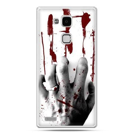Etui na Huawei Mate 7 zakrwawiona ręka
