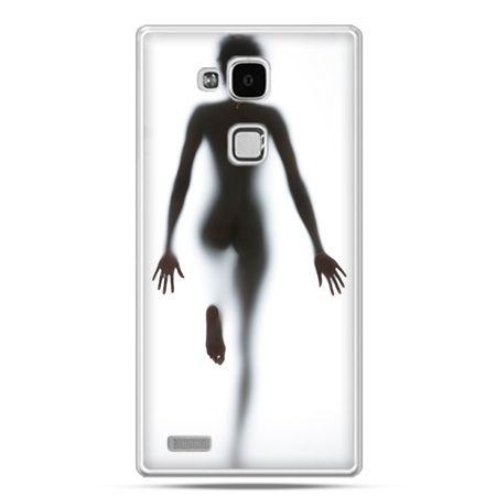 Etui na Huawei Mate 7 kobieta za szybą