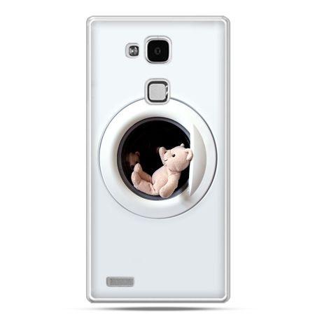Etui na Huawei Mate 7 miś w pralce