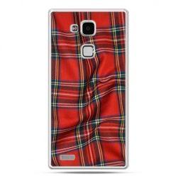 Etui na Huawei Mate 7 szkocka kratka