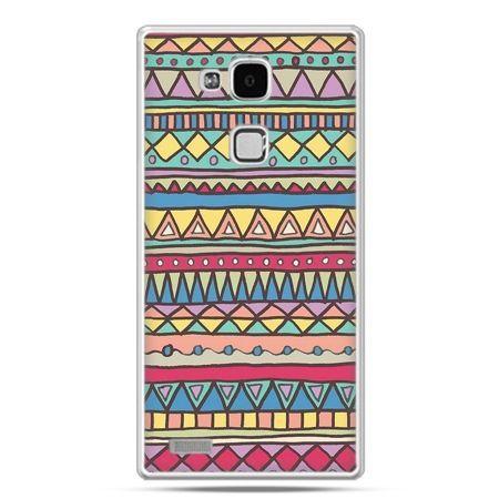 Etui na Huawei Mate 7 Azteckie wzory