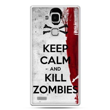 Etui na Huawei Mate 7 Keep Calm and Kill Zombies
