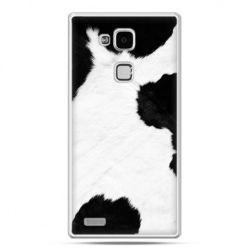 Etui na Huawei Mate 7 łaciata krowa