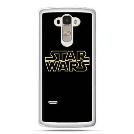 Etui na LG G4 Stylus Star Wars złoty napis