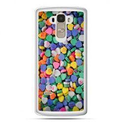 Etui na LG G4 Stylus slodkie serduszka