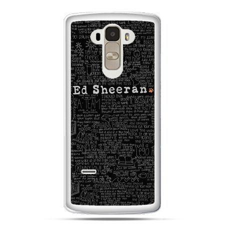 Etui na LG G4 Stylus ED Sheeran czarne poziome
