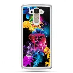 Etui na LG G4 Stylus kolorowe kwiaty
