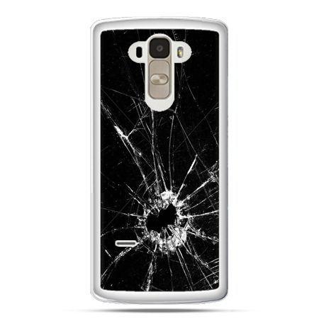 Etui na LG G4 Stylus rozbita szyba