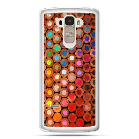 Etui na LG G4 Stylus kolorowe kredki