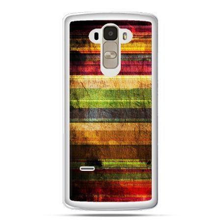 Etui na LG G4 Stylus kolorowe deski
