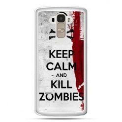Etui na LG G4 Stylus Keep Calm and Kill Zombies