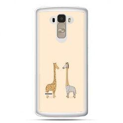 Etui na LG G4 Stylus żyrafy