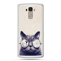 Etui na LG G4 Stylus kot w okularach