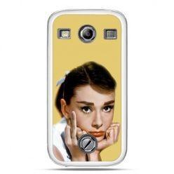 Samsung Xcover 2 etui Audrey Hepburn Fuck You