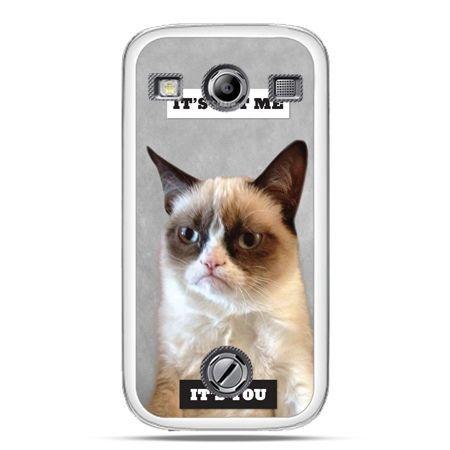 Samsung Xcover 2 etui grumpy kot zrzęda