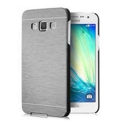 Samsung Galaxy A3 etui Motomo aluminiowe srebrne.