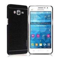 Samsung Galaxy A5 2015 etui Motomo aluminiowe czarne.
