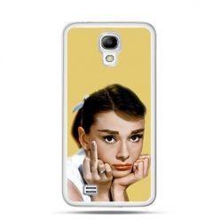 Etui Audre Hepburn Samsung S4 mini
