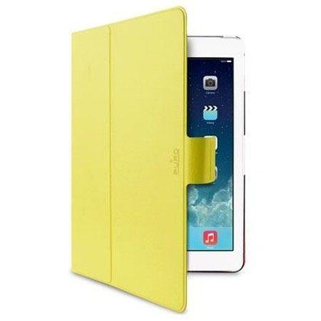 Etui iPad Air PURO Bi-Color 360° Booklet Case - żółty/różowy