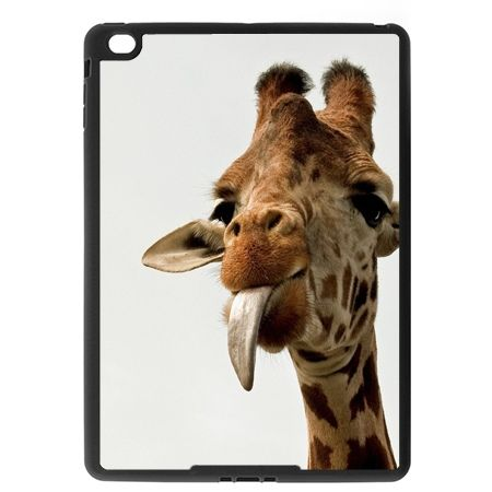 Etui na iPad Air case żyrafa z językiem