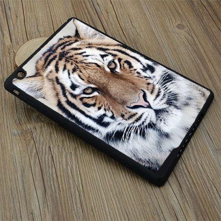 Etui na iPad Air 2 case snieżny tygrys