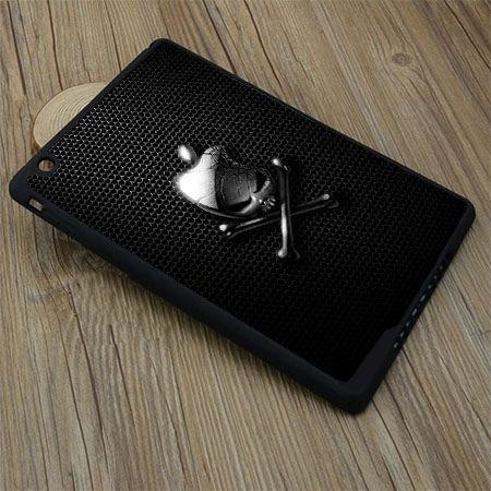 Etui na iPad mini case czaszka logo apple