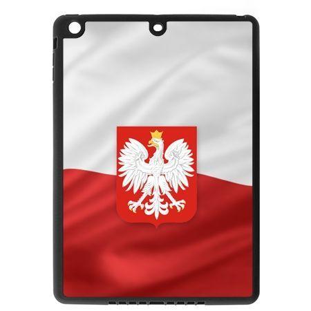 Etui na iPad mini 2 case flaga Polski z godłem