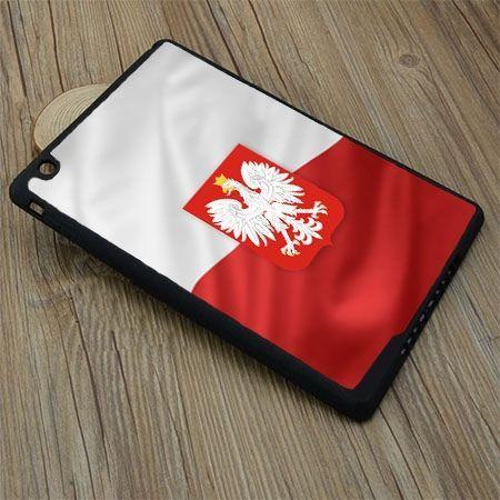 Etui na iPad mini 3 case flaga Polski z godłem