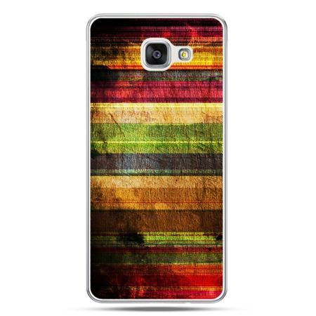Galaxy A5 (2016) A510, etui na telefon kolorowe deski