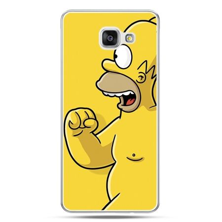 Galaxy A7 (2016) A710, etui na telefon Homer Simpson