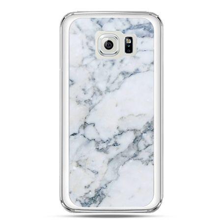 Etui na telefon Galaxy S7 biały marmur