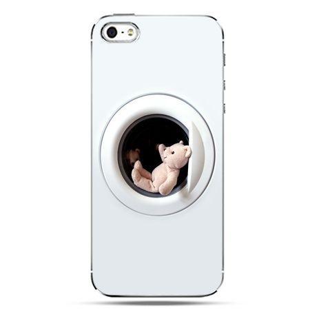 iPhone SE etui na telefon miś w pralce